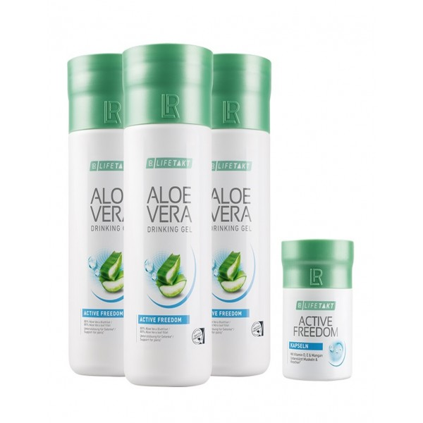 Pro Activity Aloe Vera Gel Active Freedom & Active Freedom Κάψουλες Σετ